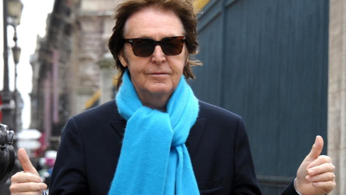 Sir Paul McCartney out and about