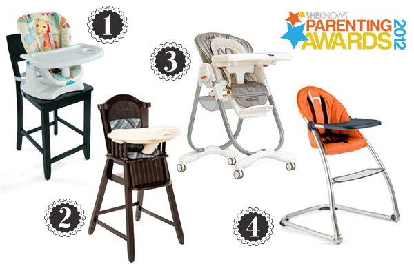 Parenting Awards high chairs