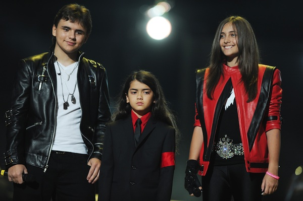 Michael Jackson's kids: Prince, Blanket, and Paris.