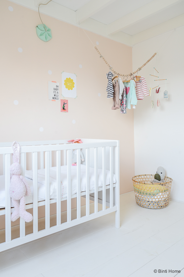 Baby room in buff