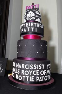 Patti Stanger's birthday cake