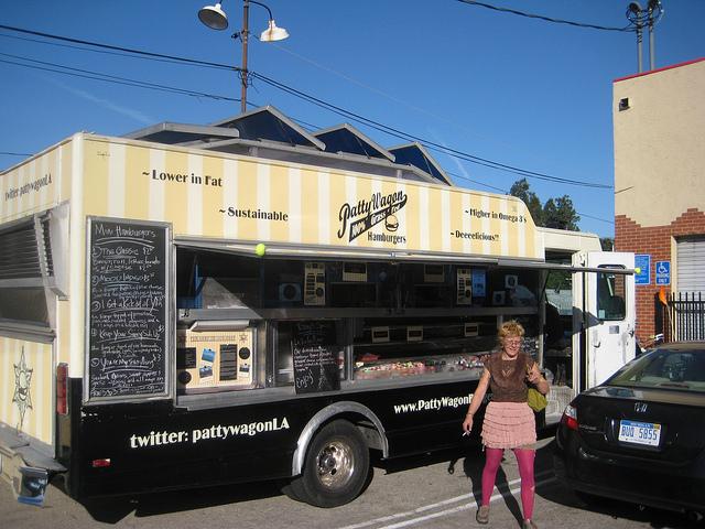 patty wagon food truck