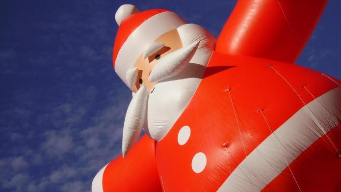 Where's Santa? (INFOGRAPHIC)