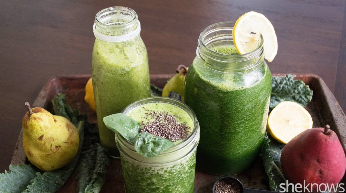 3 Healthy green smoothie recipes that