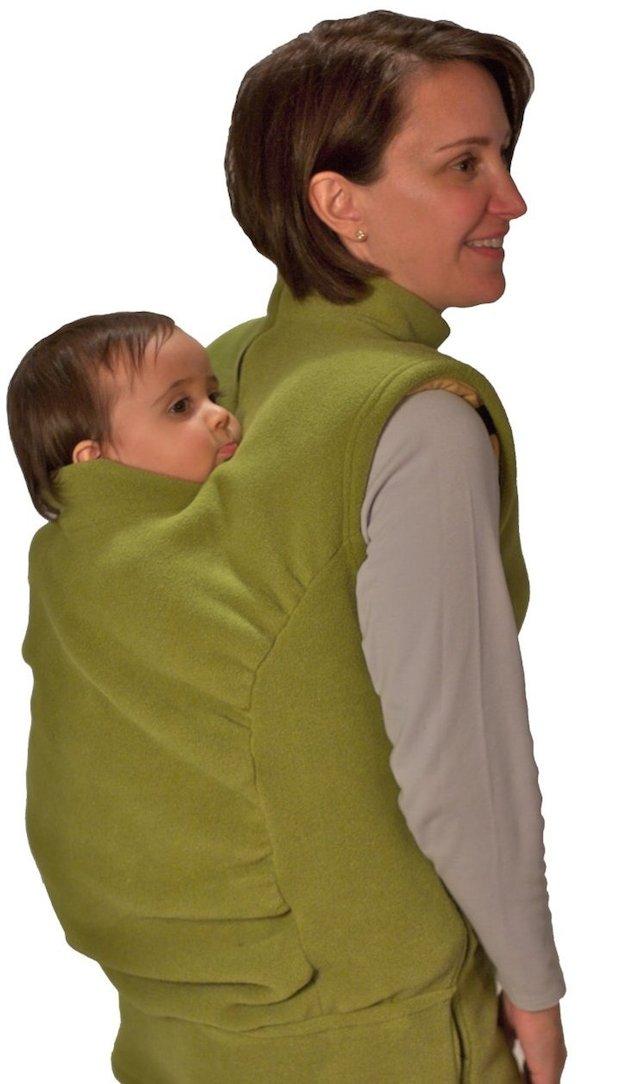 peekaru fleece baby carrier