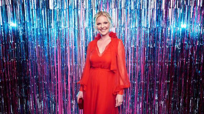 Actress Katherine Heigl poses for a
