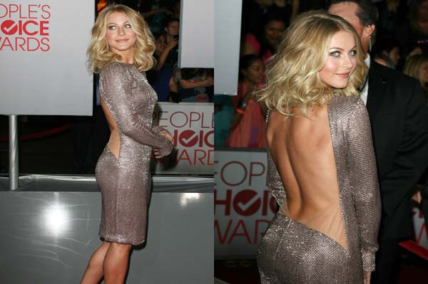 Julianne Hough at the People's choice Awards