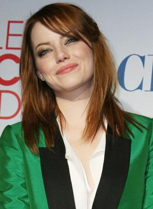 Emma Stone at People's Choice Awards
