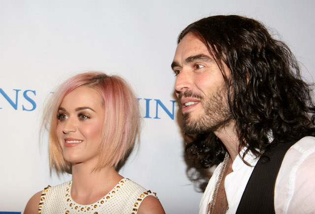 Katy Perry Russell Brand Red Carpet