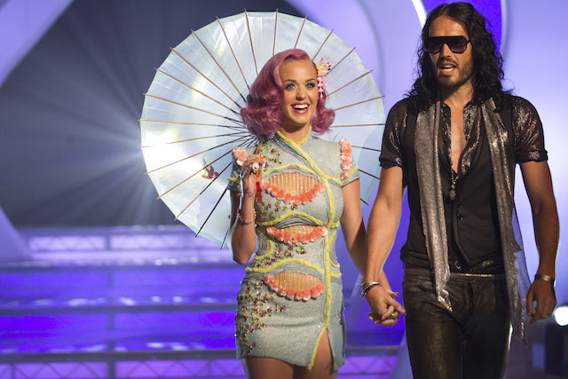 Katy Perry Russell Brand VMAs