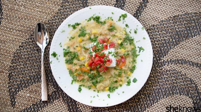 Transform summery corn chowder with a