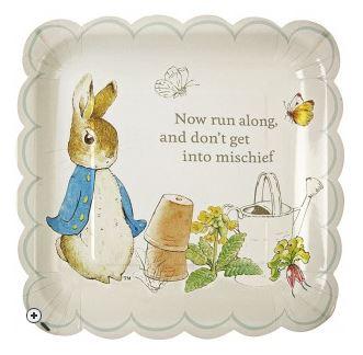 Pepter rabbit plate   Sheknows.com