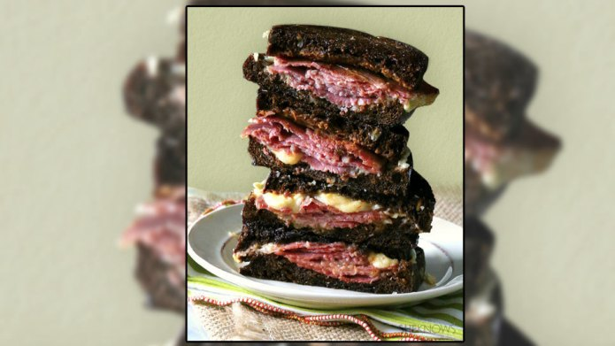 Corned beef grilled cheese will be