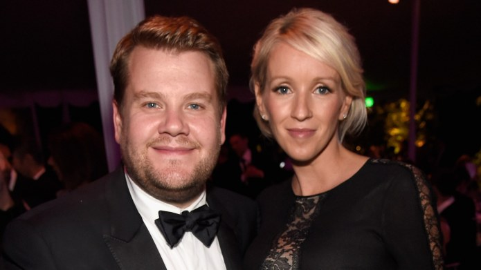 James Corden Welcomes Baby, Initially Names