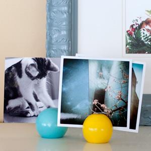 Photo display balls