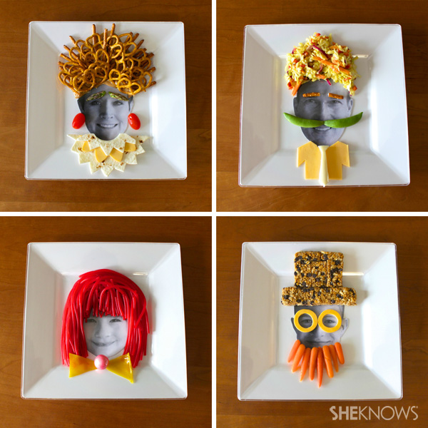 Photo plates for edible art