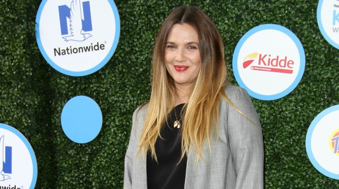 Even with the tension, Drew Barrymore