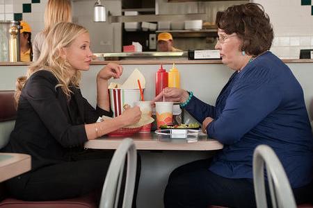 Cameron Diaz and Phyllis Smith in Bad Teacher