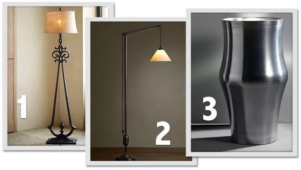 Illuminating design: Fun, functional floor lamps