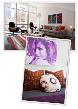 Update your decor with pillows
