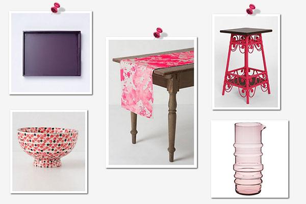 Pink and Purple kitchen