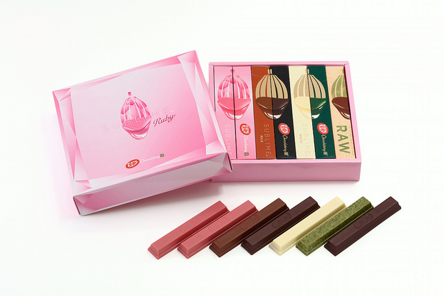 KITKAT Chocolatory Sublime Valentine's Assort 7bars