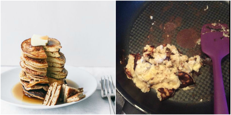 pinterest fail pancakes