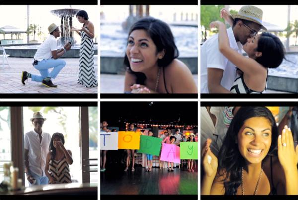 Amanda Roman and Ryan Leak's surprise Pinterest wedding