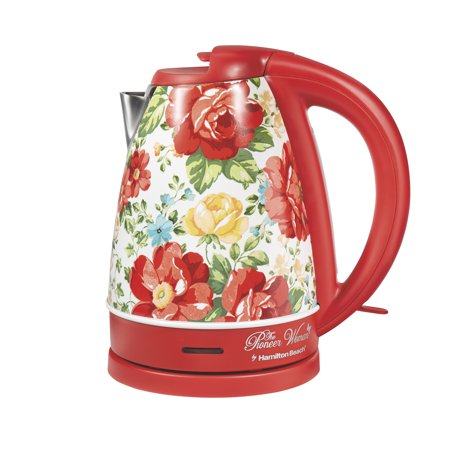 photo of pioneer woman electric kettle