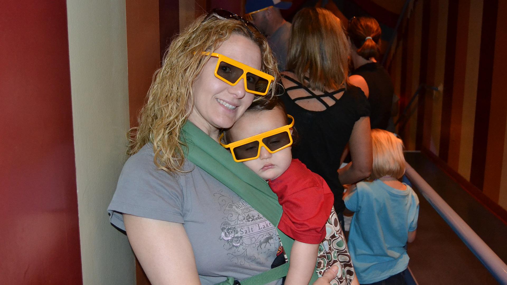 Rebecca Bahret with pitiful child   Sheknows.com