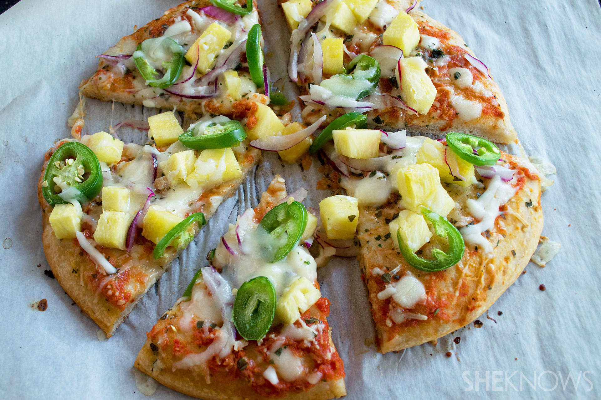 Spicy sweet pizza recipe