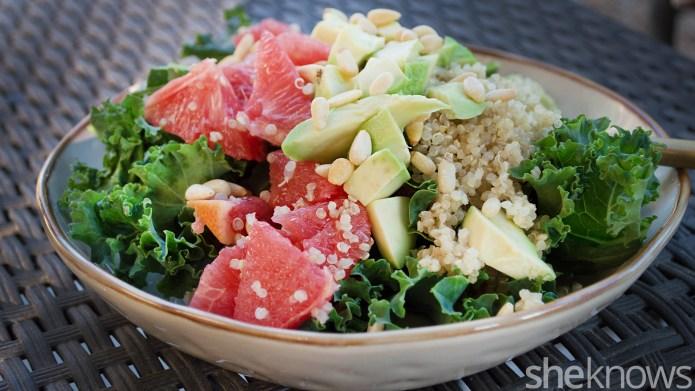 3 Wintertime quinoa salads to add