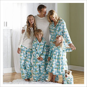 033b8619d2 You re buying matching holiday pajamas for the entire family — might as  well include the dog in the fun