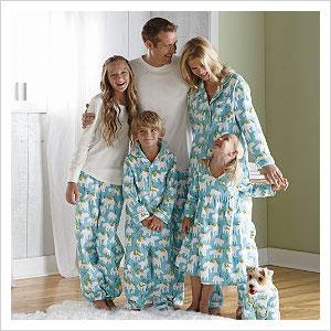 Family Christmas Pajamas Including Dog.Matching Christmas Pajamas For The Entire Family Sheknows