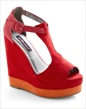 Rock Around the Colorblock Wedge Sandal