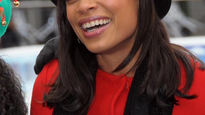 Rosario Dawson and 100 elves spread