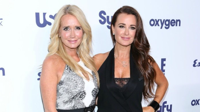 Kim Richards' pit bull has become