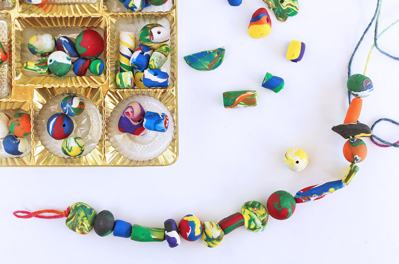 Polymer clay beads and jewelry | Sheknows.com