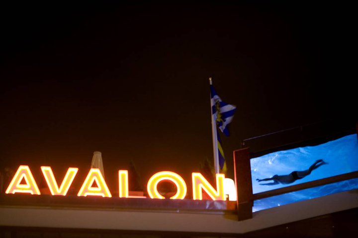 Avalon hotel pool