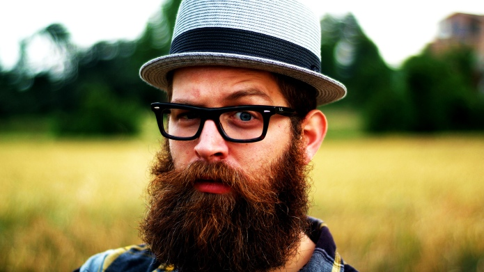 Beards contain fecal matter, making us
