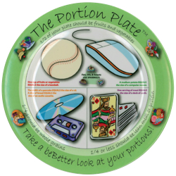 The portion plate