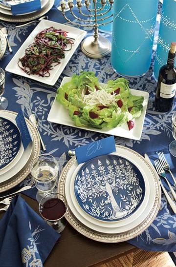 Hanukkah Table Decorating Sheknows