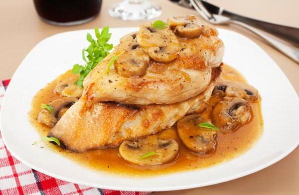 Tonight's dinner: Easy Chicken Marsala