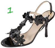 Prada flower shoe