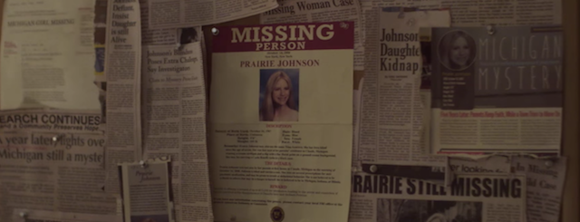 The OA Missing Poster