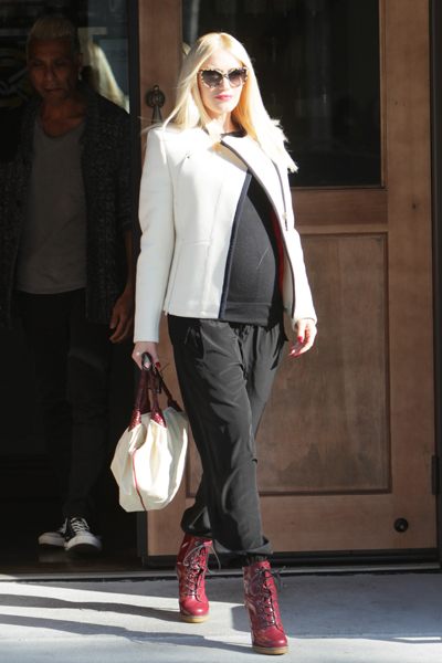 036dc25c9c84a Best celebrity maternity style of 2013 – Page 6 – SheKnows
