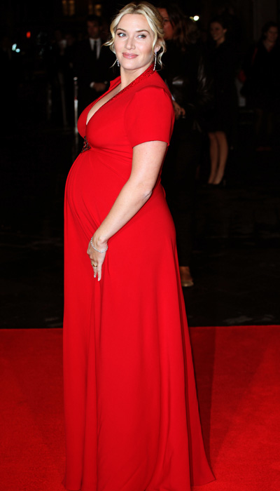 Pregnant Kate Winslet at Labor Day premiere