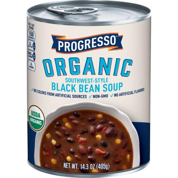 Progresso Organic Southwest-Style Black Bean Soup