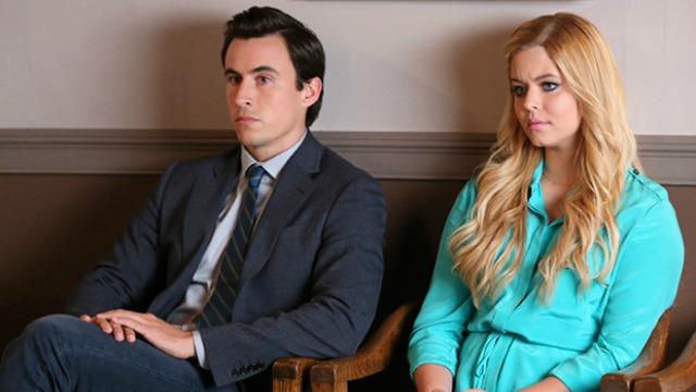 Pretty Little Liars Elliot and Alison