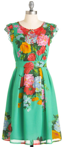 Floral frock -- floral dress by Modcloth